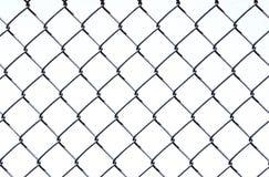 Collegamento Chain su bianco Fotografie Stock Libere da Diritti