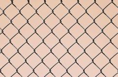 Collegamento Chain sul colore rosa Fotografia Stock Libera da Diritti
