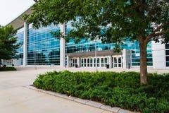 Collegamento Convention Center Omaha Nebraska di secolo immagini stock libere da diritti