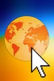 Collegamento del mondo royalty illustrazione gratis