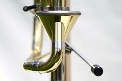 Collegamento del trombone F Immagine Stock