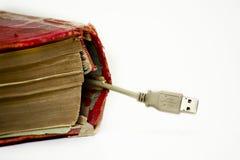 Collegamento del USB Fotografia Stock