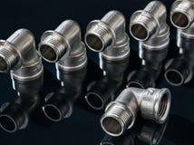 Collegamento dell'impianto idraulico Immagine Stock