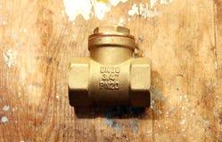 Collegamento dell'impianto idraulico Fotografie Stock