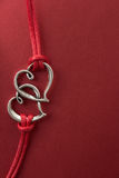 Collegamento di amore Immagine Stock