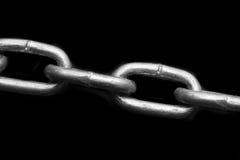 Collegamento di Chaine del metallo Immagine Stock Libera da Diritti
