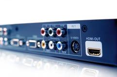 Collegamento di HDMI Fotografie Stock