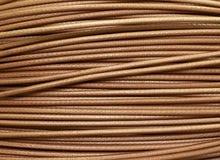 Collegamento di rete di computer del cavo di rame & x28; background& x29 di struttura; Immagini Stock
