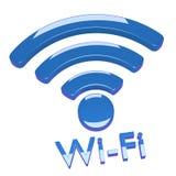 Collegamento di Wi-Fi di Internet Immagini Stock