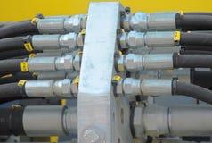 Collegamento idraulico Fotografie Stock