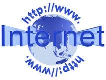 Collegamento a Internet Fotografia Stock