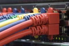 Collegamento a Internet ad alta velocità Immagini Stock