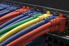 Collegamento a Internet ad alta velocità Immagine Stock