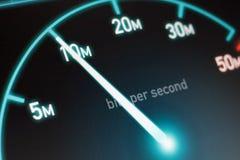 Collegamento a Internet veloce Fotografia Stock