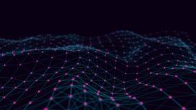 Collegamento strutturale di informazioni Trasferimento di dati nella connessione di rete Priorit? bassa astratta di dati rapprese illustrazione di stock