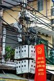 Collegare a Hanoi Immagini Stock Libere da Diritti