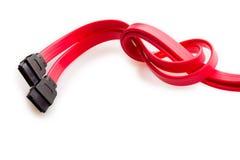 Collegare rosso Immagini Stock