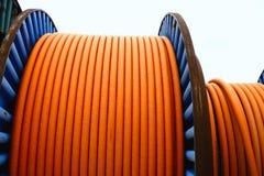 Collegare sulla bobina del metallo Fotografie Stock