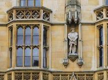 College剑桥国王 免版税库存图片