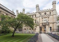 College剑桥英国国王 库存图片