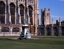 college,剑桥,英国国王。 库存照片