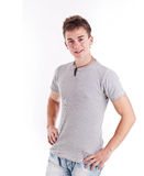 College age young man Stock Photos