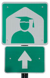 College Ahead royalty free stock image