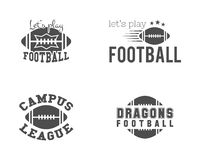 College american football team, championship Stock Images