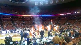 College basketball UT Royalty Free Stock Photo