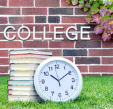 College book Stock Photo