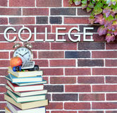 College book Royalty Free Stock Images