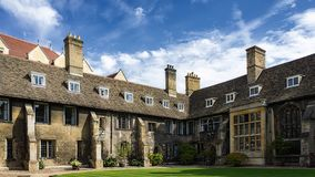 College building, Cambridge Royalty Free Stock Photography