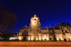 College Building d'université d'Aberdeen du Roi image libre de droits