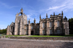 College Building de la universidad de Aberdeen de rey imagen de archivo