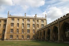 College in Cambridge Royalty Free Stock Images