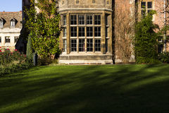 A College in Cambridge Royalty Free Stock Photos