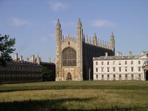College Cambridge du Roi Photo stock
