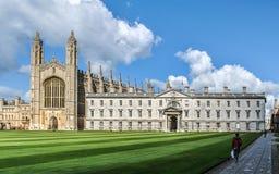 College in Cambridge Stock Photo