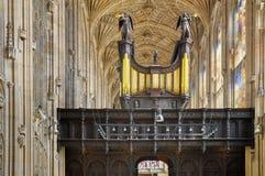 College Chapel, Cambridge, Angleterre du Roi photo libre de droits