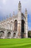 College Chapel, Cambridge de rey Fotografía de archivo