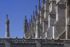 College Chapel Cambridge des Königs Stockfotos