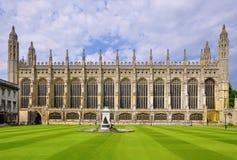 College Chapel, Cambridge du Roi Images libres de droits