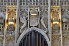 College Chapel, Cambridge du Roi. image libre de droits