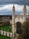 College Chapel de rey Fotos de archivo
