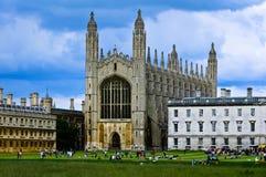 College Chapel de rey Imagen de archivo