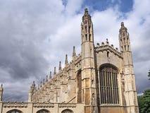 College Chapel de rey imagen de archivo libre de regalías