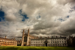 College Chapel, Università di Cambridge del re Fotografia Stock Libera da Diritti