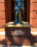 College of Charleston Cougar Statue at TD Arena Stock Images