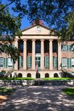 College of Charleston Main Building Randolph Hall in South Carol royalty free stock images