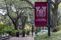 College of Charleston. The oldest municipal college in America, founded in 1770 Stock Images